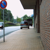 Am Anfang der 30-Zone stand das O-Amt Schwerin...