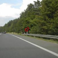 Anfahrt aus Richtung Weissenburg