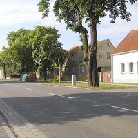 beim Fahren aus Richtung Nauen in Richtung Potsdam (nach Süd-Südost)