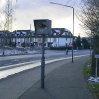 Ratingen-Feste Blitzanlage, stadtauswärts