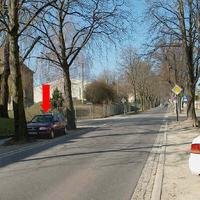 An dieser Stelle gelten 30 wegen eines Unfallschwerpunktes als die Straße noch nicht mit Bitumen versehen war.