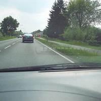 Anfahrtsansicht - Büderich Ortseingang - aus Wesel kommend
