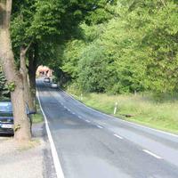 In diesem Straßenabschnitt werden mehrere Standorte benutzt.