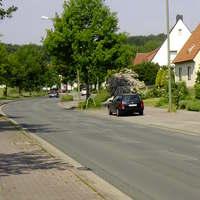 Schwarzer Passat