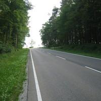 Anfahrtsansicht in Richtung Langenzenn => Fürth.