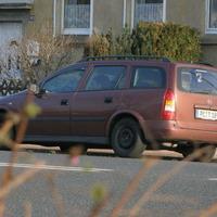 Dieser Wagen war früher silber! Siehe Galarie Radarfalle.