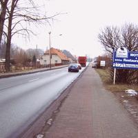 Einer der beliebten Meßpunkte zwischen der A 24 und Schwerin.