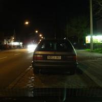 """Der Passat stand in Richtung Leyher Strasse => Rothenburger Strasse, also auf der """"Zoowelt-Seite""""   ;-)"""