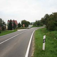 Anfahrt. Vorsicht der Messzeitpunkt liegt wegen des verwendeten Systems weit vor dem Wagen.