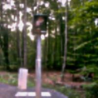zw. Aegidienberg und Bad Honnef, mitten im Wald am Ende der langen Geraden, durch Schild verdeckt