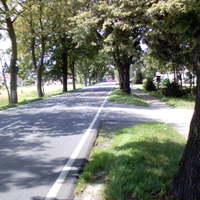 Ca. 300m hinter dem OE Levenhagen aus Greifswald kommend. In dieser Ortschaft zwischen Greifswald und der A20 wird regelmäßig an verschiedenen Standorten gemessen.