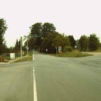 Anfahrt, kurz hinterm OE in Richtung Pritzwalk - mein erster Gedanke - Radarwagen !!!