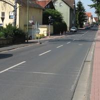 Ortseinfahrt aus Richtung Karben