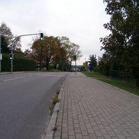 Anfahrtsansicht - Fußgängerampel