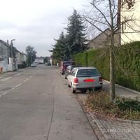 Anfahrtsansicht in Richtung Hauptstraße
