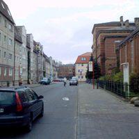 Tatort: Greifswald/Innenstadt in der Loefflerstraße. (30-Zone)