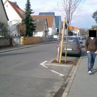Schulweg, Zone 30, 13.00 Uhr. Das Fahrzeug steht offen sichtbar. Nichts zu meckern.
