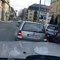 OA - Jena auf dem Weg zur nächsten Messstelle.