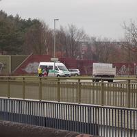 In Richtung Sieben-Seen-Center / Görries / Wismar wurde heute in den Vormittagsstunden auf einer bislang unbekannten Stelle (Verkehrsinsel der Auffahrt zur B106) gelasert.