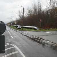 Neue Bilder von bekannter Messstelle. Diesemal wurde aus dem Fahrzeug gemessen, welches hinter der Einmündung geparkt wurde.