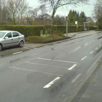 Fahrtrichtung, in die momentan geblitzt wird. Beide Richtungen können überwacht werden.