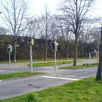 Der drehbare stationäre Blitzer in Frankenbach