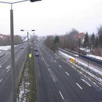 Die PI Schwerin positionierte sich am Ende der dritten Spur.