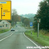 Wichtig für die Anreise zur Insel Usedom! B 111 von der A 20 kommend ca. 2 km vor Wolgast an der Abfahrt nach Hohendorf / Schalense in der Senke! Mehr Infos unter www.usedomblitzer.de