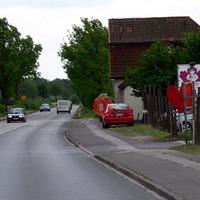 in der Ortschaft Braak ( Tankstelle in Richtung Barsbüttel)