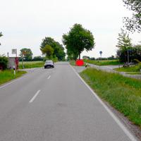 aus Braak kommend, kurzer Abschnitt mit 50 km/h!