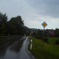 Anfarnansicht in  Richtung Wolfratshausen/eurasburg .