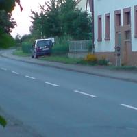 Landkreis Heilbronn mit blauem VW Touran  mit Gerät in Front und Heckscheibe. Blitzte beide Fahrbahnen.