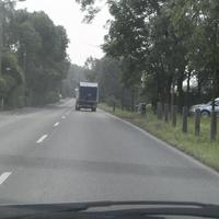OA - Jena bei der Kontrolle der Geschwindigkeit.