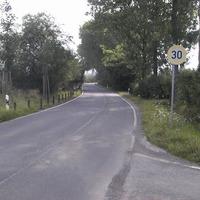 Hier die Anfahrt