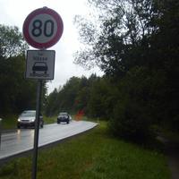 Einfratt Normalle limit 100km/h