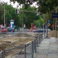 Die Richard-Lehmann-Straße ist vorerst Baustelle. Der Starenkasten wird sicherlich auch nach dem Straßenumbau bestehen bleiben.