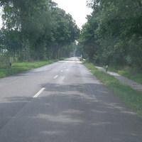 aus Steinau kommend in Fahrtrichtung Bad Bederkesa L117