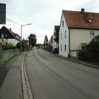 Anfahrtsansicht in Fahrtrichtung Fürther Strasse => Rosstal