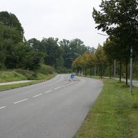 Anfahrt in Richtung Zirndorf Bahnhofstrasse. Die Hütchen bitte wegdenken, die standen nur während dem Aufbau da.