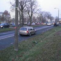 In aller Frühe überwachte die Polizei Schwerin heute gegen 7.45 Uhr mit ihrem zivilen Messwagen die Grevesmühlener Straße stadtauswärts.