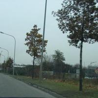 Fahrtrichtung Neckarsulm: An dieser Stelle war noch nichts zu erahnen. Der weiße VW-Bus rechts fällt erst auf dem Bild richtig auf.