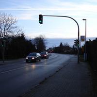 Heute war es mal wieder soweit, eine Geschwindigkeitskontrolle in Rampe stand auf dem Plan. Gemessen wurden alle diejenigen, die auf der B104 aus Cambs kommend in Richtung Schwerin weiterfuhren.