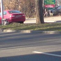 Südstrasse Rtg. Theresienwiese - rechts im Bilder der silberne Vito Messwagen. Während meines 10 min Aufenthaltes hat es oft geklingelt