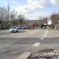 am Bowling-Zentrum Richtung Althagener Brücke