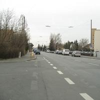 Anfahrt. Standardmessstelle in der Hans-Böckler-Straße.