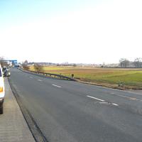 Zuerst wurde in Richtung Flugplatzstraße gemessen, aber da es zu wenige Verstöße gab, wurde die Messrichtung geändert.