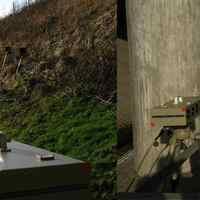 links: Aufbau in Fahrtrichtung Schwerin/Rampe, rechts: Aufbau in Richtung Sternberg/Cambs.