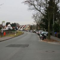 Anfahrtsansicht aus Höhe Schweriner Strasse.