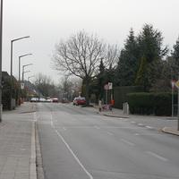 Anfahrtsansicht aus Höhe Kieler Strasse.
