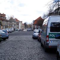 Eine bisher gänzlich unbekannte Messstelle wurde heute in Schwerin eingeweiht, nämlich die Puschkinstraße, Ecke Schelfmarkt.
